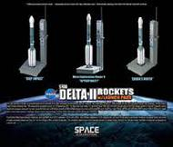 Dragon Wings  1/400 Delta Ii Rockets W/Launch- Net Pricing DRW56394