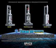 Dragon Wings  1/400 Titan Iii Rockets W/pads- Net Pricing DRW56395