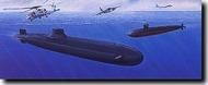 DML/Dragon Models  1/700 USS Dallas vs. Typhoon - Pre-Order Item DML7001