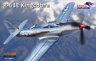 Dora Wings  1/48 P-63E King Cobra Single-Seat Aircraft (New Tool) DWN48004