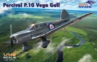 Dora Wings  1/48 Percival P10 Vega Gull British Four-Seater Aircraft (New Tool) DWN48005