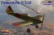 Dora Wings  1/48 Dewoitine D-510 Spanish Civil War Monoplane Fighter (New Tool) DWN48008