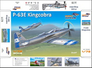 Dora Wings  1/72 Bell P-63E-1-BE Kingcobra DWN72005