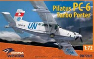 Pilatus PC6 Turbo Porter Transport Aircraft (New Tool) - Pre-Order Item #DWN72025