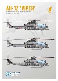AH-1Z 'Viper' USMC Attack Helicopter #DMK72012