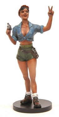Jimmy Flintstone Accessories  120mm 120mm Rosie The Riveter JIMJF82
