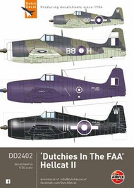 Dutch Decal  1/24 Grumman F6F-5/Mk.II Hellcat 'Duchies In The FAA' DD24002