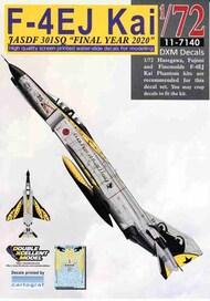 F-4EJ Kai Phantom II JASDF 301SQ Final Year 2020 #DXM11-7140