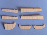 EagleParts  1/32 Bf.109E-1 Control Surfaces EE3233