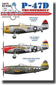 EagleCal Decals  1/32 P-47D Thunderbolt EL32104