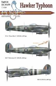 EagleCal Decals  1/24 Typhoon Part.I EL24159