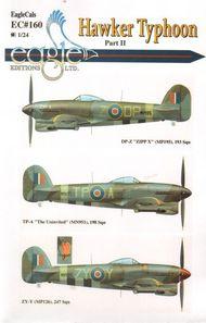 EagleCal Decals  1/24 Typhoon Part.II EL24160