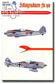 EagleCal Decals  1/32 Schlangenschwarm Fw.190s EL32035