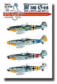 EagleCal Decals  1/32 Messerschmitt Bf.109 G-6s JG1, JG 11, JG 54 EL32040