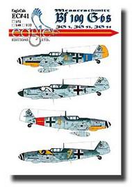 EagleCal Decals  1/32 Messerschmitt Bf.109 G-6s JG3, JG 53, JG 54 EL32041