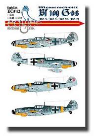 EagleCal Decals  1/32 Messerschmitt Bf.109G-6s JG3, JG 5, JG 52, JG 77 EL32042