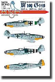 EagleCal Decals  1/32 Messerschmitt Bf.109G-14s JG4, JG 52, JG 77 EL32043