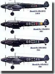 EagleCal Decals  1/32 Bf.110 Night Fighters EL32045
