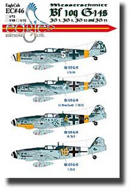 EagleCal Decals  1/32 Bf.109G-14s EL32046