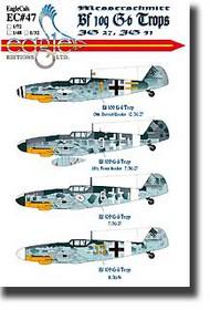 EagleCal Decals  1/32 Bf.109G-6 Trop EL32047