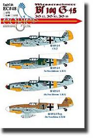 EagleCal Decals  1/32 Bf.109G-4s EL32048