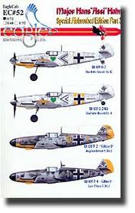 EagleCal Decals  1/32 Major Hans 'Assi' Hahn Pt.3 EL32052