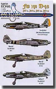 EagleCal Decals  1/32 Fw.190D-9s EL32060