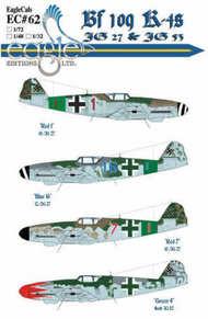 EagleCal Decals  1/32 Bf.109K-4 JG27/53 EL32062