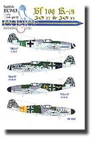 EagleCal Decals  1/32 Bf.109K-4 JG27/53 EL32063