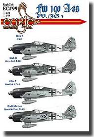 EagleCal Decals  1/32 Fw.190 Fw.190 A-8s (Sturmjager JG 3) EL32099