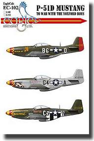P-51D Mustang- To War With The Yoxford Boys #EL32102