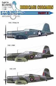 Eagle Editions  1/32 Vought F4U-1 Birdcage Corsairs Part three EL32152