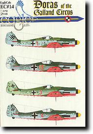EagleCal Decals  1/32 JV44 Doras of the Galland Circus EL32014