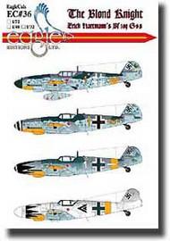 EagleCal Decals  1/32 The Blond Knight - Erich Hartmann EL32036