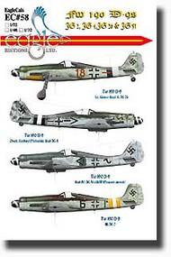 EagleCal Decals  1/32 Fw.190D-9s JG2, JG4, JG20, JG51 EL32058