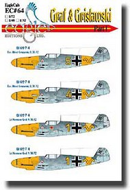 EagleCal Decals  1/32 Graf & Grislawski Bf.109Fs Pt.1 EL32064