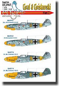 EagleCal Decals  1/32 Graf & Grislawski Bf.109Gs Pt.2 EL32065
