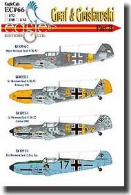 EagleCal Decals  1/32 Graf & Grislawski Bf.109Gs & Es Pt.3 EL32066