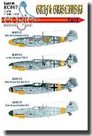 EagleCal Decals  1/32 Graf & Grislawski Bf.109Gs Pt.4 EL32067