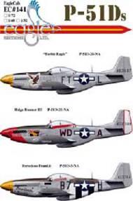 P-51Ds (Feeble Eagle, Ridge Runner III, Ferocious Frankie) #EL72141