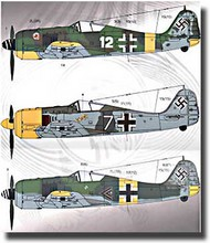 Eagle Strike Decals  1/24 Collection - Fw.190A-5 & A-6 EAG24001