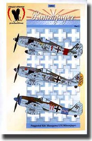 Eagle Strike Decals  1/32 Collection - Fw.190A-8 Rammjagers Pt. 1 EAG32061