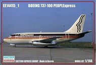 Eastern Express  1/144 Boeing 737-100 PEOPLExpress (Limited Edition) EEX144015-1