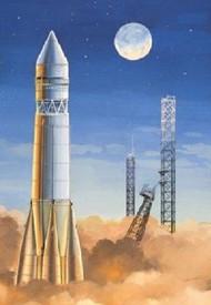 Eastern Express  1/144 Sputnik R7 Russian Carrier Rocket EEX14450