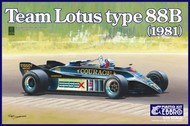Ebbro Plastic Model Kits  1/20 1981 Lotus Type 88B Team Lotus F1 Race Car EBB10