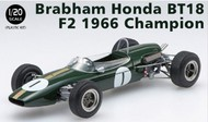Ebbro Plastic Model Kits  1/20 1966 Brabham Honda BT18 F2 Champion Race Car (New Tool) EBB16