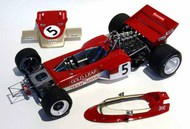 Ebbro Plastic Model Kits  1/20 Lotus 72C 1970 Rob Walker Team EBB2