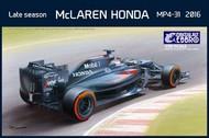 Ebbro Plastic Model Kits  1/20 2016 McLaren Honda MP4-31 F1 Late Season Grand Prix Race Car EBB20