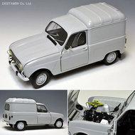 """Ebbro Plastic Model Kits  1/24 Renault 4 """"Fourgonette"""" Van EBB25003"""