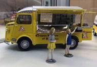Ebbro Plastic Model Kits  1/24 Citroen Type H Mobile Crepe Truck w/Interior Details & Figures - Pre-Order Item EBB25013